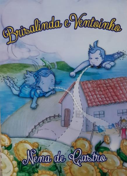 Capa de Brisalinda e Ventoinho - Nena de Castro