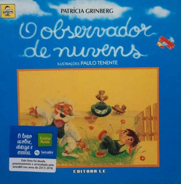Capa de O Observador de Nuvens - Patrícia Grinberg