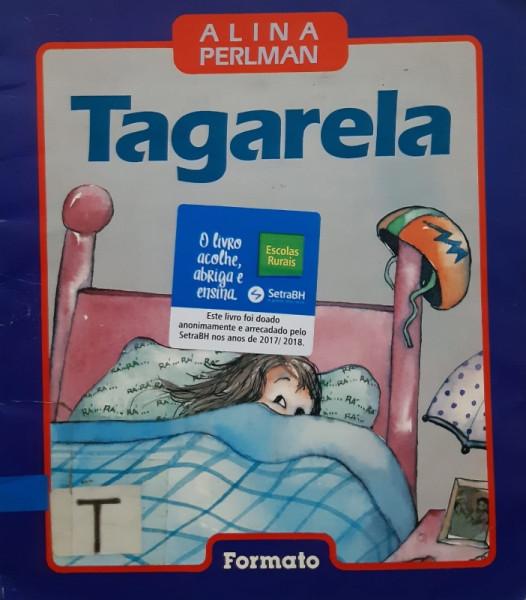 Capa de Tagarela - Alina Perlman