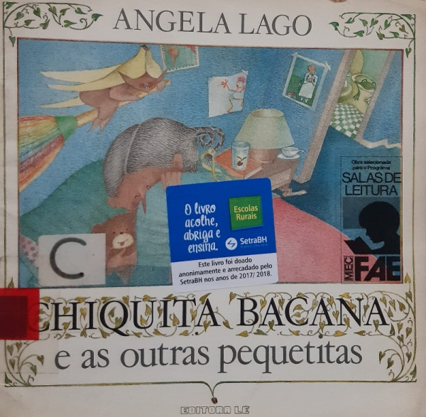 Capa de Chiquita Bacana e as Outras Pequetitas - Angela Lago