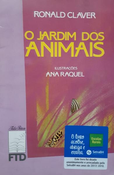 Capa de O Jardim dos Animais - Ronald Claver