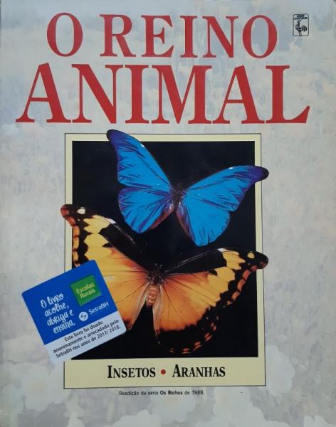 Capa de Reino Animal - Insetos Aranhas - John Weno