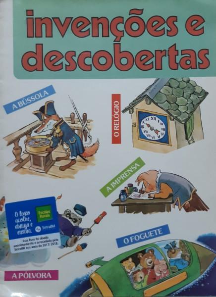 Capa de Invenções e Descobertas - Eliana Albuquerque Trad e Adpta