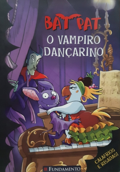 Capa de O Vampiro Dançarino - Roberto Panello