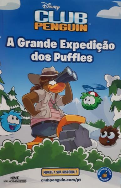 Capa de A Grande Expedição dos Puffles - Tracey West