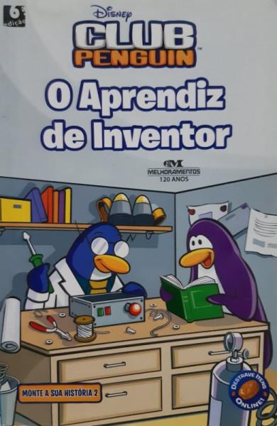 Capa de O Aprendiz de Inventor - Tracey West