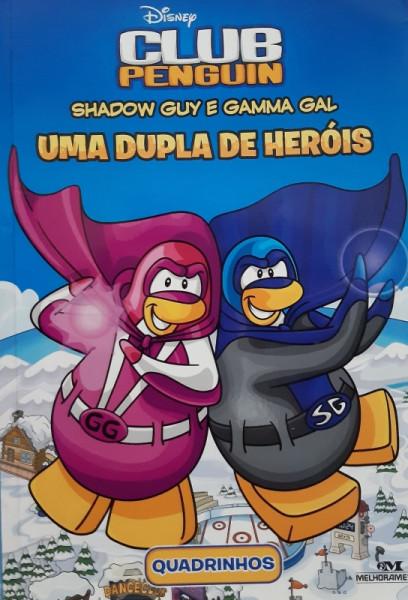 Capa de Shadow Guy e Gamma Gal - Uma Dupla de Heróis - Arle Kaplan