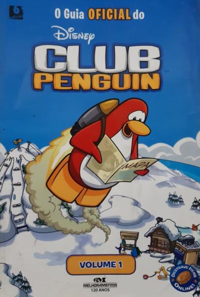 Capa de O Guia Oficial do Club Penguin - Katherine Noll