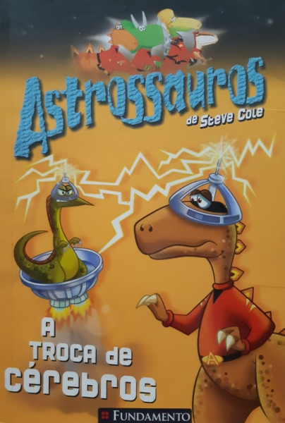 Capa de Astrossauros - Steve Cole