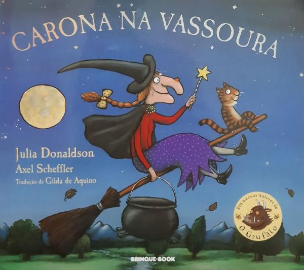 Capa de Carona na Vassoura - Julia Donaldson