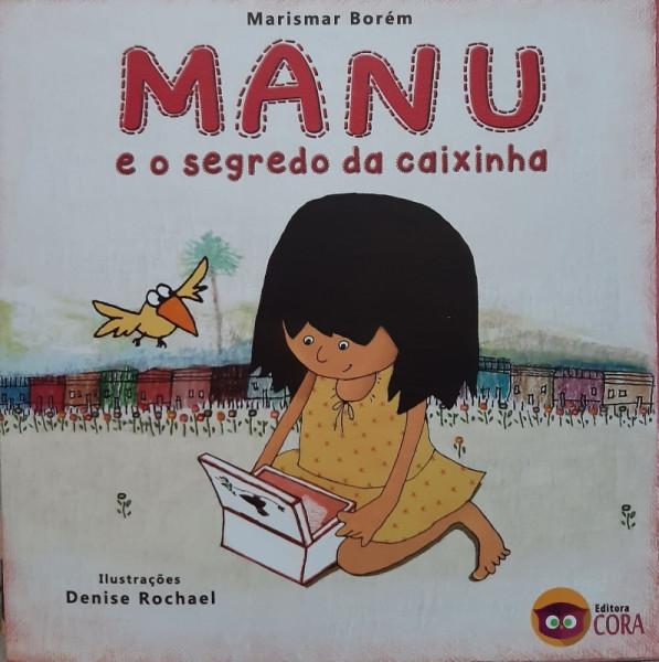 Capa de Manu e o Segredo da Caixinha - Marismar Borém