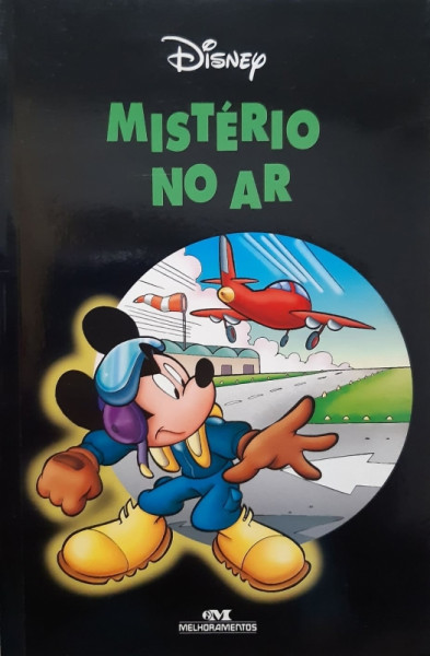 Capa de Mistério no Ar - Disney Enterprises