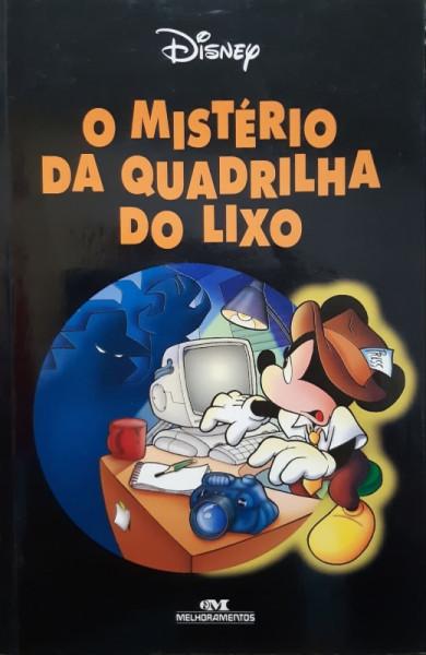 Capa de O Mistério da Quadrilha de Luxo - Disney Enterprises