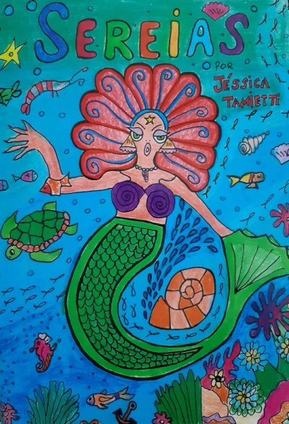 Capa de Sereias - Jéssica Tamiete