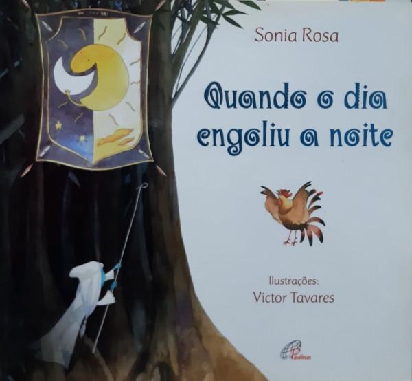 Capa de Quando o Dia Engoliu a Noite - Sonia Rosa