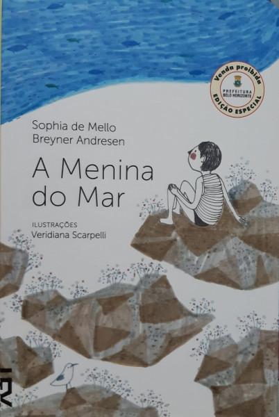 Capa de A Menina do Mar - Sophia de Mello e Breyner Andresen