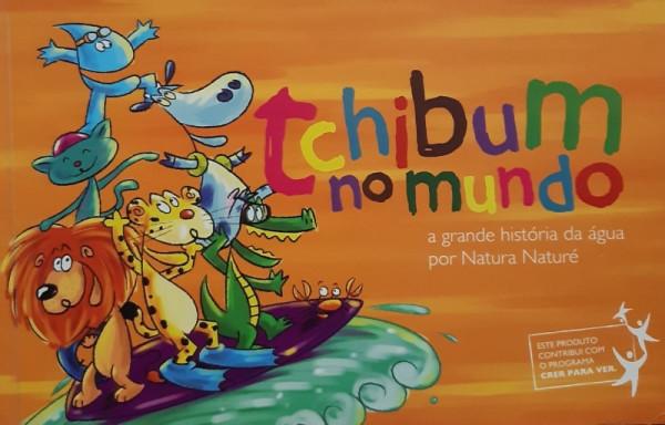 Capa de Tchibum no Mundo - Simone Fonseca