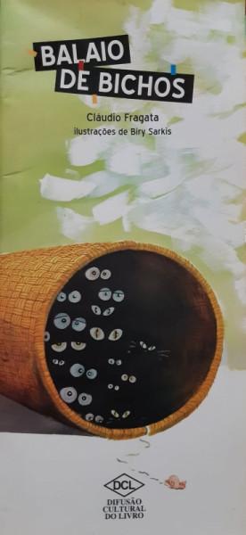Capa de Balaio de Bichos - Cláudio Fragata