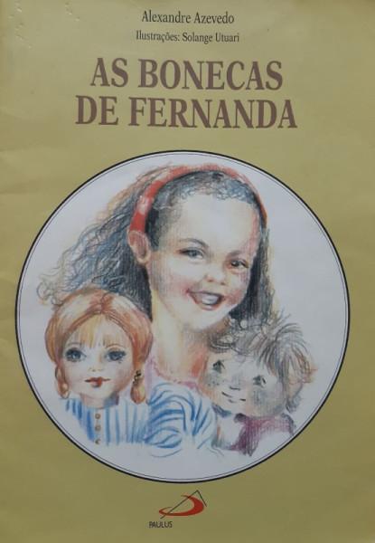 Capa de As Bonecas de Fernanda - Alexandre Azevedo