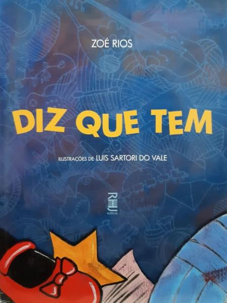 Capa de Diz Que Tem - Zoé Rios