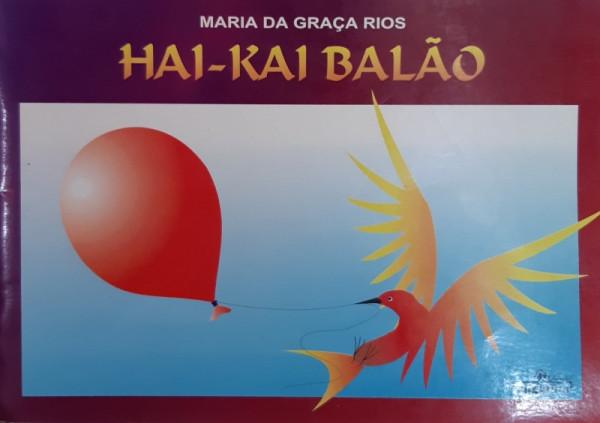 Capa de Hai-Kai Balão - Maria da Graça Rios