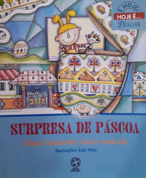 Capa de Surpresa de Páscoa - Telma Guimarães Castro Andrade