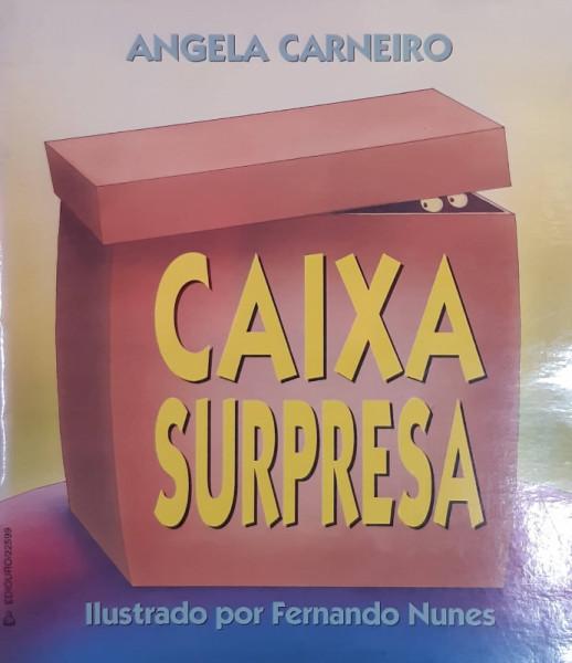 Capa de Caixa Surpresa - Angela Carneiro