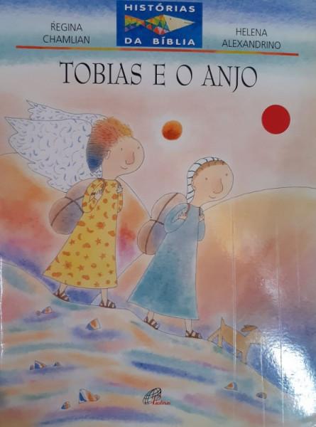 Capa de Tobias e o Anjo - Regina Chamilian