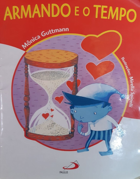Capa de Armando e o Tempo - Mônica Guttmann