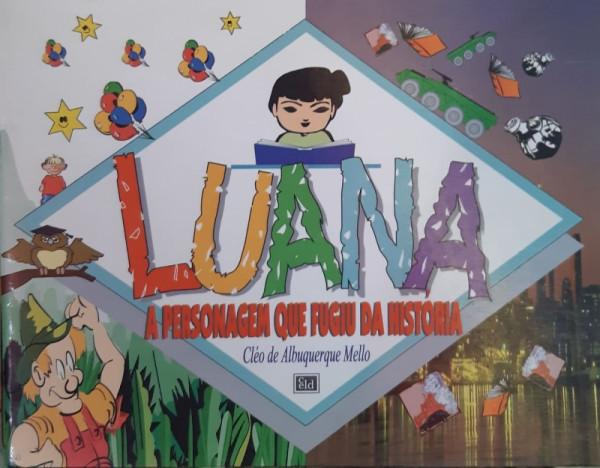 Capa de Luana - Cléo de Albuquerque Mello