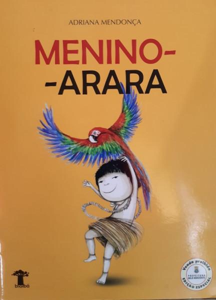 Capa de Menino-Aranha - Adriana Mendonça