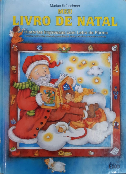 Capa de Meu Livro de Natal - Marion Krätschmer