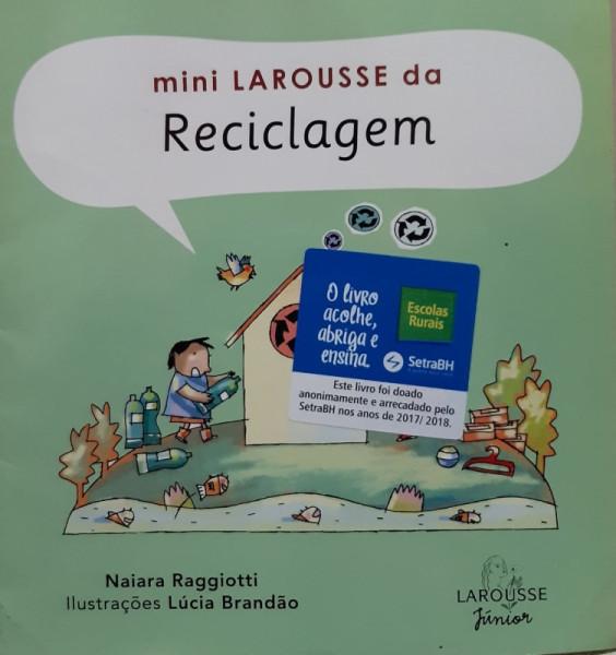 Capa de Mini Larousse da Reciclagem - Naiara Raggiotti