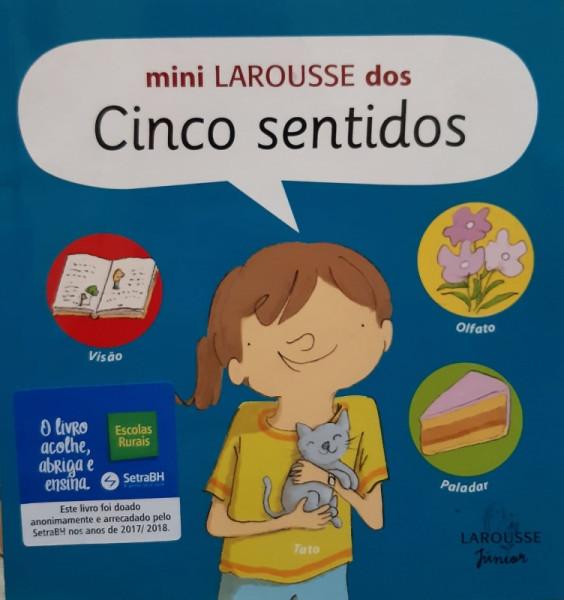 Capa de Mini Larousse dos Cinco Sentidos -