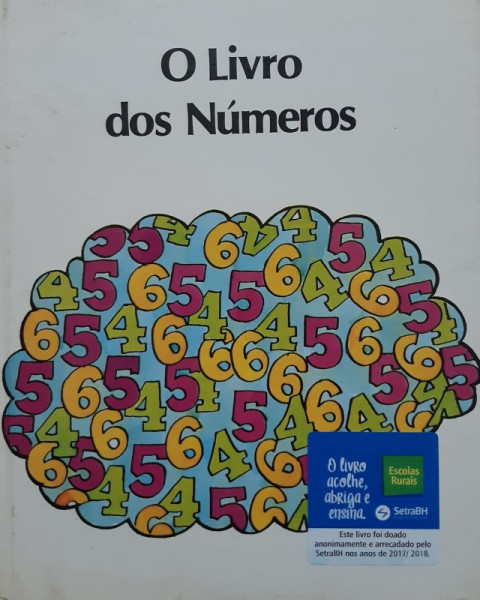 Capa de O Livro dos Números - Desconhecido