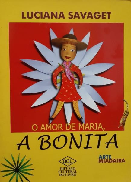 Capa de O Amor de Maria, a Bonita - Luciana Savaget