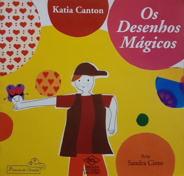 Capa de Os Desenhos Mágicos - Katia Canton
