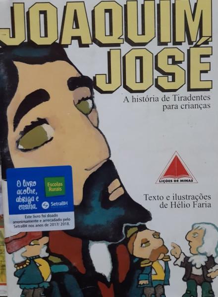 Capa de Joaquim José - Hélio Faria