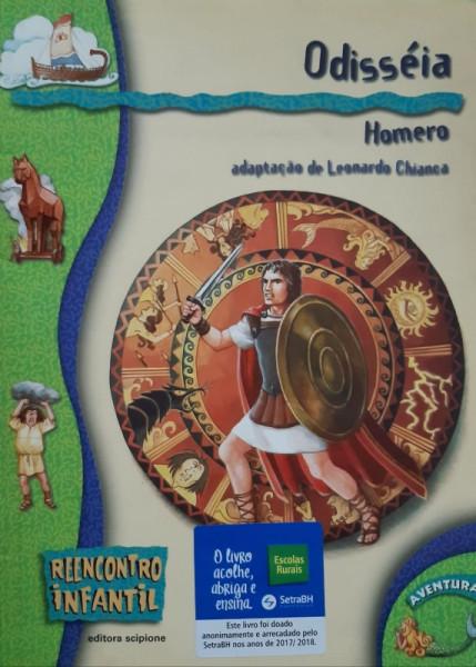 Capa de Odisséia - Homero; Leonardo Chianca (adapt.)