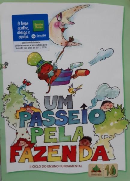Capa de Um Passeio Pela Fazenda - Eliana SantAnna