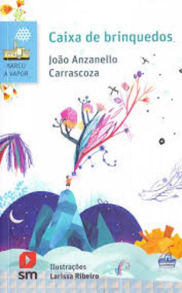 Capa de Caixa de brinquedos - João Anzanello Carrascoza