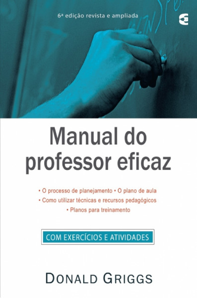 Capa de Manual do professor eficaz - Donald Griggs
