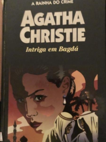 Capa de Intriga em Bagda - Ágatha Christie