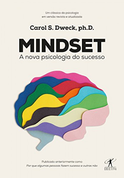 Capa de Mindset - Carol S. Dweck