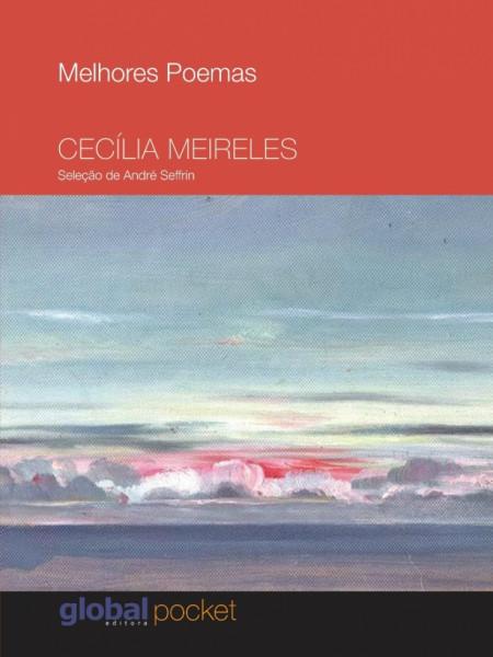 Capa de Melhores poemas Cecília Meireles - Cecília Meireles; André Seffrin (sel.)