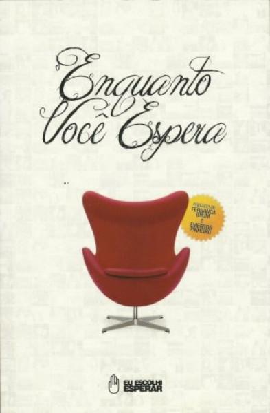Capa de Enquanto você espera - Nelson Jr.; Mario Freitas