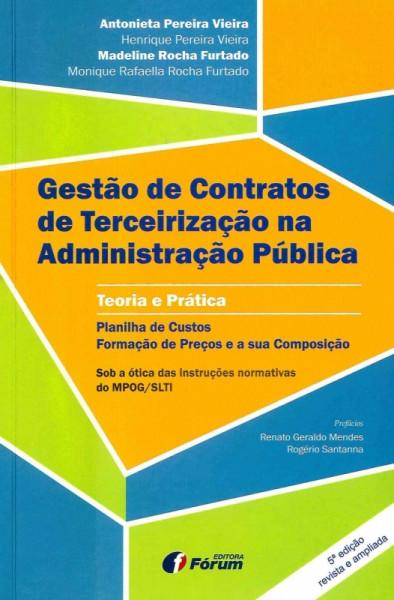 Capa de GESTÃO DE CONTRATOS DE TERCEIRIZAÇÃO - Vários