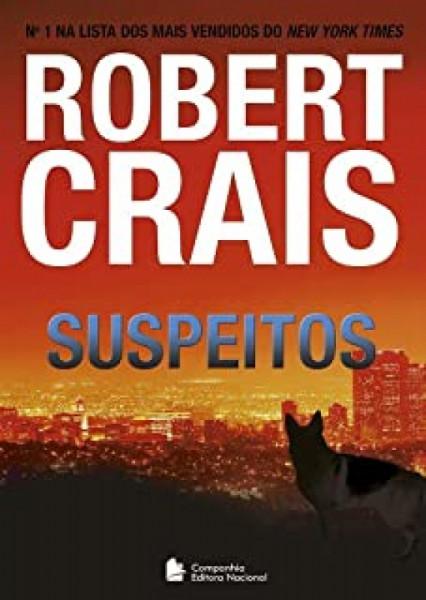 Capa de Suspeitos - Robert Crais