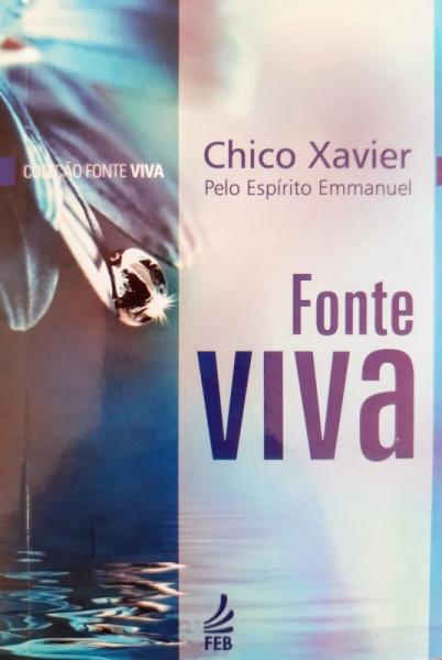 Capa de Fonte viva - Francisco Cândido Xavier; Espírito Emmanuel