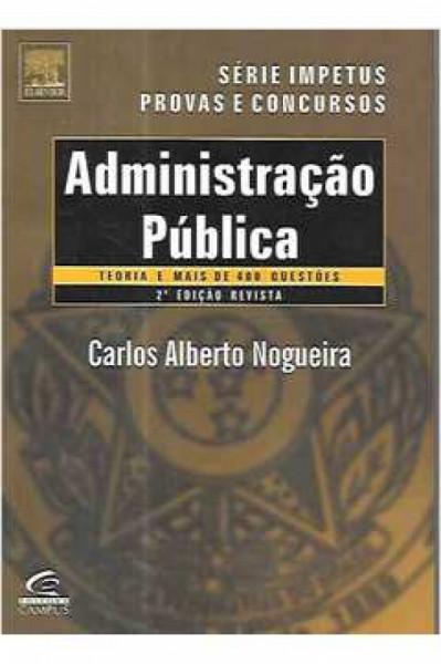 Capa de Administração pública - Carlos Alberto Nogueira